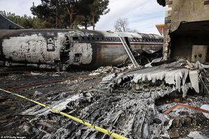 Máy bay Iran gặp nạn khi đang chở thịt