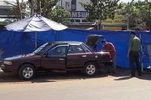 Bình Phước: Ô tô của cán bộ kiểm lâm tỉnh nghi bị đặt mìn tự chế