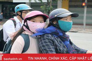 Đón gió mùa từ tối mai, Hà Tĩnh sẽ có mưa rào rải rác