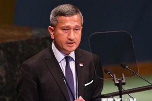 Ngoại trưởng Singapore xác nhận quan hệ với Malaysia đang xuống dốc