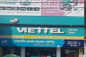 Tiết lộ về đối tượng dùng vật giống súng, mìn cướp cửa hàng Viettel