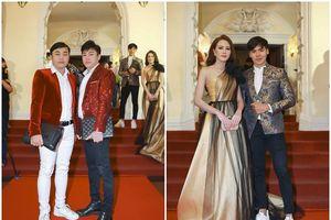 NTK Tommy Nguyễn, đạo diễn Đỗ Kim Khánh cùng Hoa khôi Bảo Ngọc dự sự kiện Mai Vàng