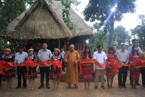 Bình Phước: Khánh thành khu bảo tồn văn hóa Nam Tây Nguyên