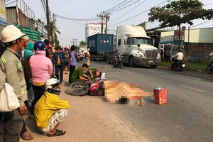 Truy đuổi xe container cán chết người rồi bỏ chạy: Tài xế khai không biết đã gây tai nạn