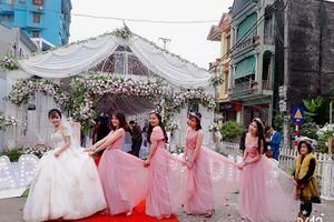 Tuyên Quang: Choáng với đám cưới KHỦNG chi cả trăm triệu đồng để dựng rạp với không gian tiệc cưới cực hoàng tráng