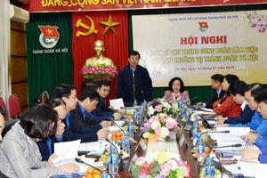 Ban bí thư Trung ương Đoàn làm việc với BTV Thành đoàn Hà Nội