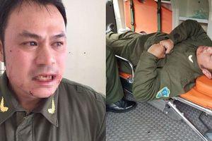 Xử lý nghiêm 'cò' taxi đánh gãy răng nhân viên an ninh Nội Bài