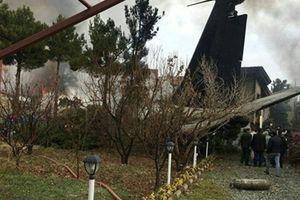 Một người sống sót thần kì trên máy bay Boeing 707 rơi ở Iran