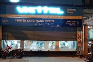 Kẻ bịt mặt cướp tiền tại cửa hàng Viettel sa lưới