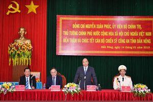 Thủ tướng kiểm tra công tác sẵn sàng chiến đấu của Công an Đắk Nông