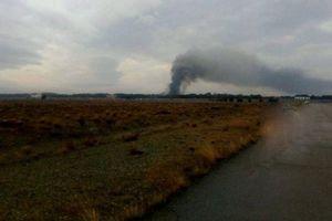 Vụ rơi máy bay Iran: Ít nhất 7 người thiệt mạng