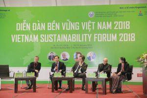 Diễn đàn bền vững Việt Nam 2019: 'Thúc đẩy tăng trưởng kinh tế và xã hội toàn diện phục vụ phát triển bền vững'