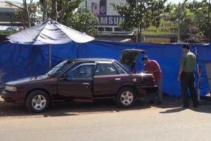 Ô tô của cán bộ kiểm lâm tỉnh Bình Phước nghi bị đặt mìn tự chế