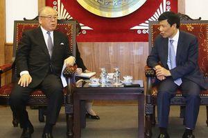 Thúc đẩy hơn nữa mối quan hệ hợp tác trong lĩnh vực VHTTDL giữa Việt Nam - Nhật Bản