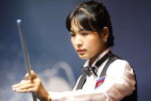 Màn trình diễn ấn tượng của nữ cơ thủ Campuchia nổi tiếng châu Á