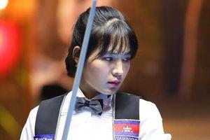 Nữ cơ thủ Campuchia xinh đẹp, từng vô địch giải billiards châu Á