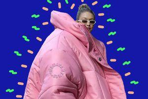 Ảnh chế Gigi Hadid, Kylie Jenner với áo khoác khổng lồ có ý nghĩa gì?