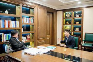 Bộ trưởng Nguyễn Chí Dũng nói về tình yêu với nhạc Phú Quang