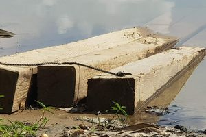 Quảng Nam: CSGT đường thủy mật phục bắt vận chuyển gỗ lậu