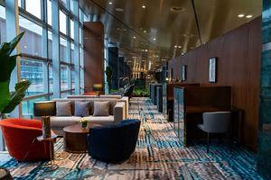 Soi đẳng cấp phòng chờ hạng thương gia đẹp như khách sạn 5 sao tại Cảng hàng không quốc tế Vân Đồn