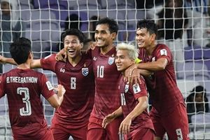 Cập nhật bảng xếp hạng Asian Cup 2019: Thái Lan gặp thử thách lớn