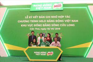 Nestlé Việt Nam mở rộng chương trình 'Năng động Việt Nam' tại ĐBSCL
