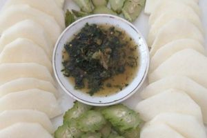 Ứa miếng với cách ăn chua mà ngon của người Thái ở Sơn La