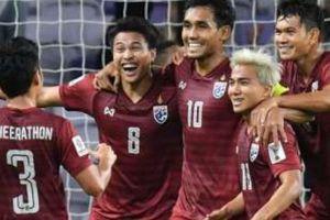 Asian Cup 2019: ĐT Thái Lan bước vào vòng 1/8 với đội hình què quặt