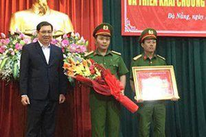 Chủ tịch Đà Nẵng thưởng nóng ban chuyên án vụ dùng súng cướp giữa ban ngày