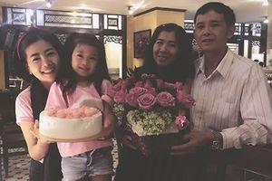 Diễn viên Mai Phương hạnh phúc đón sinh nhật bên gia đình