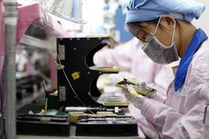 Doanh số iPhone giảm mạnh, chuỗi cung ứng của Apple lao đao