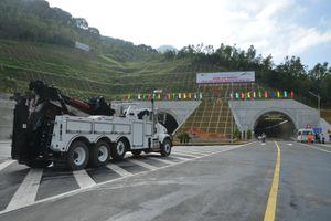 Hầm Cù Mông hoàn thành vượt tiến độ hơn 2,5 tháng