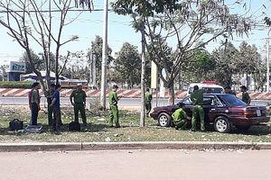 Ô tô của cán bộ kiểm lâm Bình Phước bị gài mìn tự chế
