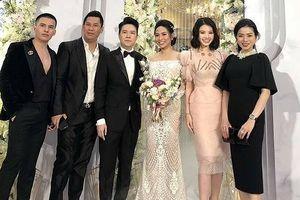 Lê Hiếu hạnh phúc tại tiệc cưới, nhiều sao nổi tiếng tới chung vui