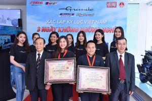 Yamaha Grande Hybrid xác lập 2 kỷ lục Việt Nam