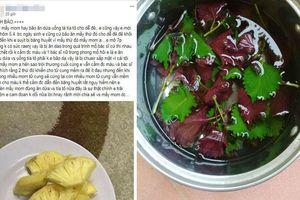 Ăn dứa và uống nước lá tía tô gần ngày dự sinh cho dễ đẻ, sản phụ không thể cầm máu sau sinh
