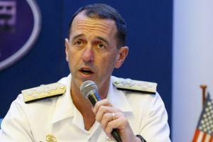 Tư lệnh hải quân Mỹ đối thoại thẳng thắn với Trung Quốc