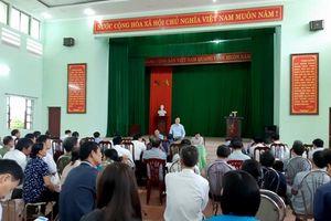 Bắc Giang: Đối thoại với người dân về thu hồi đất Dự án Đình Trám - Sen Hồ
