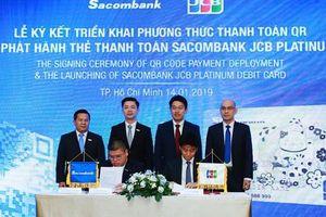 Sacombank-JCB hợp tác triển khai thanh toán QR