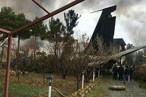 Rơi máy bay Boeing 707 ở Iran, thảm họa do thời tiết xấu