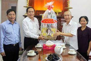Chủ tịch Trần Thanh Mẫn chúc Tết tại Thành phố Hồ Chí Minh