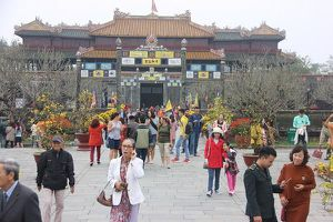 Hơn 3,5 triệu lượt khách đến tham quan Di sản Huế