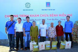 PV GAS phối hợp với Bệnh viện Bạch Mai (Hà Nội) tổ chức khám chữa bệnh miễn phí tại Xuyên Mộc, Bà Rịa – Vũng Tàu