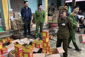 Lạng Sơn: thu giữ 200 kg pháo nổ nhập lậu