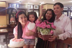 Diễn viên Mai Phương rạng rỡ đón sinh nhật cùng gia đình