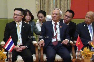 Phó Chủ tịch Quốc hội Uông Chu lưu dự gặp mặt các đoàn tham dự appf-27