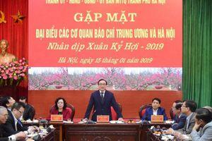 Những kết quả toàn diện của Hà Nội năm 2018 có sự đồng hành của báo chí