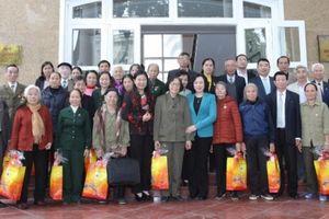 Lãnh đạo TP Hà Nôi gặp mặt đại biểu cựu thanh niên xung phong
