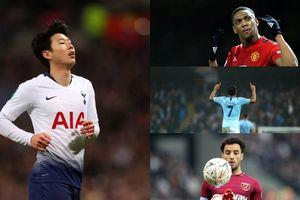 BXH 10 ngôi sao chạy cánh hay nhất Premier League kể từ đầu mùa
