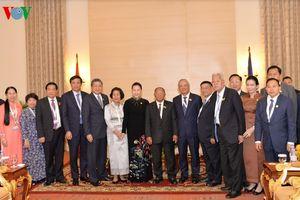 Chủ tịch Quốc hội hội kiến Chủ tịch Quốc hội Vương quốc Campuchia